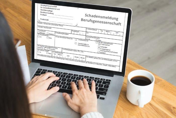 Unfallmeldung Berufsgenossenschaft, Unfallversicherung, Unfall, Homeoffice, Landsberg am Lech, Penzing, Augsburg, Kaufering, Buchloe